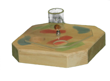 Kreiselspiel mit Acryglasplatte MG1504