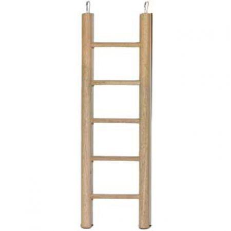Holzleiter, 6 Sprossen, 28cm