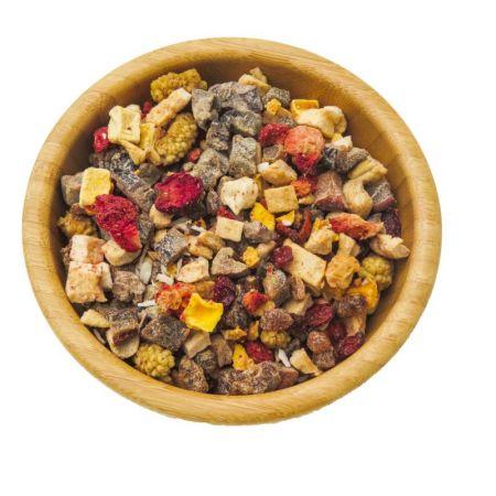 Fruchtmix für Sittiche      100 g    FFS