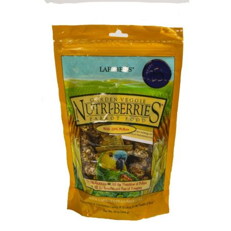 Lafeber Nutri Berries Garden Veggie 284g L32350 E