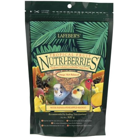 LAFEBER Nutri Berries Tropical Fruit Sittich  L32640E