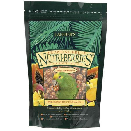 L32650E LAFEBER Nutri Berries Tropical Fruit Parrot 300g