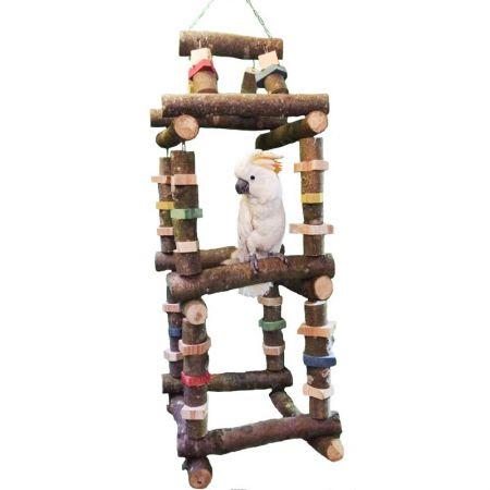 Turmschaukel Jumbo für Aras und große Kakadus