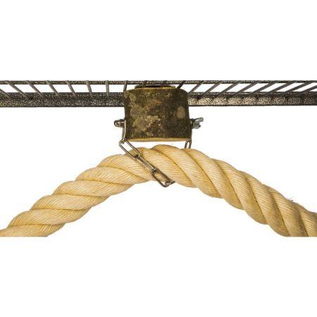 Halterung für Sisalseil 45mm Ara und Kakadu