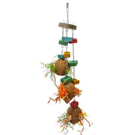 Cocosnußversteck Spielzeug zur kreativen Futtersuche
