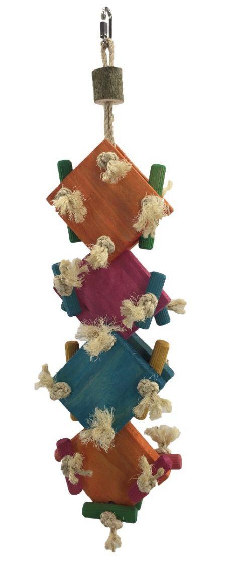 Papageien Brettchen Schredder Spiel