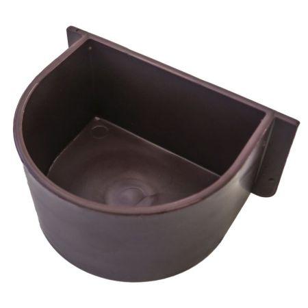 Futter/Wassernapf zum Einklemmen   (braun)
