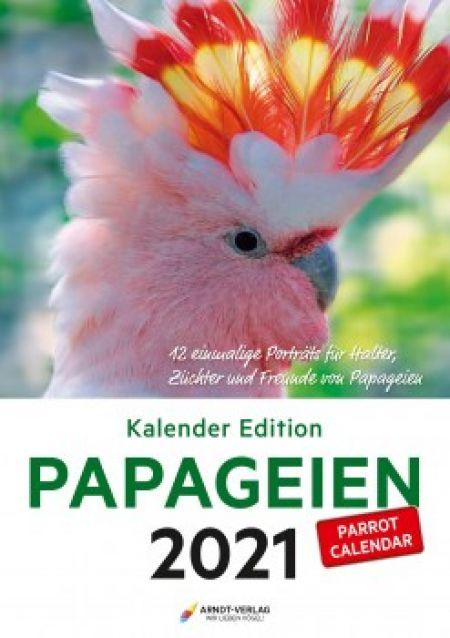 ARNDT Kalender Papageien  2021