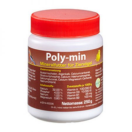 Poly-min    250g   RS2070